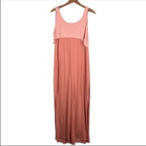 Free People Beach Peach Maxi Dress Size Large